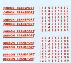 London Transport Red 4mm