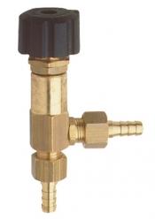Chemical metering valve