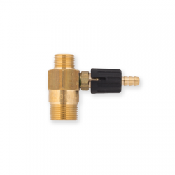 Adjustable Chemical Injector 1.6 Male to Female