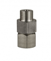 straight stainless steel swivel