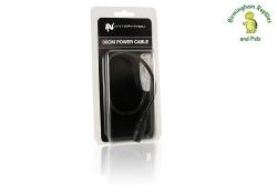 White Python LED 30cm Power Cable