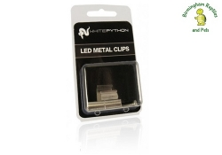 White Python LED Metal Clips