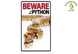 Beware of the Python