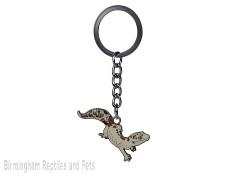 White Leopard Gecko Keyring
