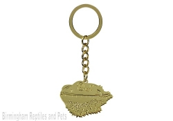 Bearded Dragon Head Keyring