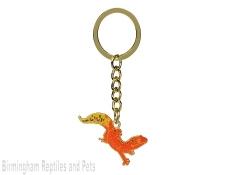 Electric Leopard Gecko Keyring
