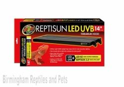 "Zoo Med ReptiSun LED U.V Hood 14"""