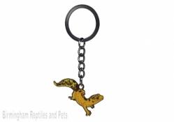 Chocolate Leopard Gecko Keyring
