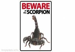 Beware of the Scorpion