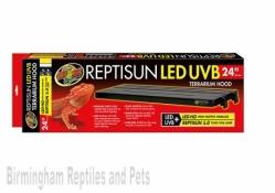 "Zoo Med ReptiSun LED U.V Hood 24"""