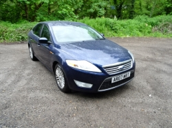 Ford Mondeo 2.0 TDCi Ghia 5dr ONE FORMER KEEPER 2007 (07 reg), Hatchback