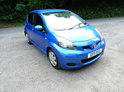 Toyota Aygo 1.0 VVT-i Blue 5dr £20 A YEAR ROAD TAX 2011