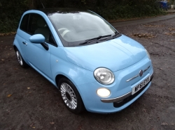 Fiat 500 1.2 Lounge (s/s) 3dr \\SOLD//