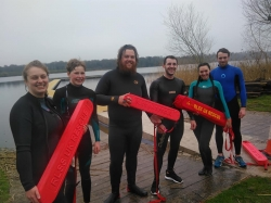 lifeguard trainees