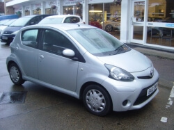 1212     AYGO ICE 1.0 5DR, SILVER, ONLY 16,000 MILES, FSH