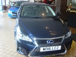 1616     LEXUS CT200h 1.8 ADVANCE 5DR HYBRID CVT AUTOMATIC