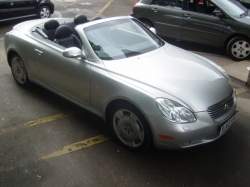 0303     LEXUS SC430 COUPE CONVERTIBLE 4.3 2DR