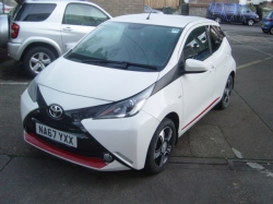 1767      AYGO 1.0 5DR X-CLUSIV 3, ONLY 9,000 MILES
