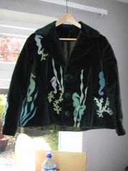 Bespoke Seahorse Applique jacket