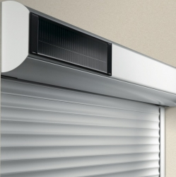 The Garage Door Is 100% Solar And 100% Independent, Providing You With  Effortless Operation. The Solar Powered Motor That Powers The Garage Door  Comes With ...