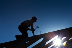 Constructing roof