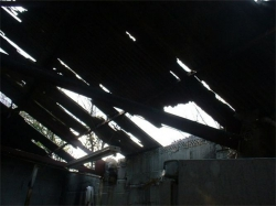 Severe Roof Damage