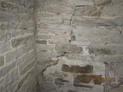 Pretty bad cracking to the original walls