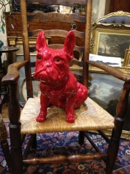 Pottery French Bulldog