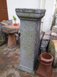 Romanesque Granite Plinth