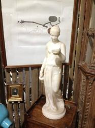 Italian Alabaster Figure