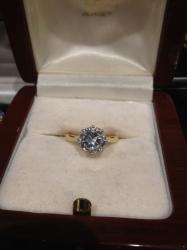 2.5ct Solitaire Round Diamond Ring