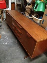 Large 1960s teak sideboard