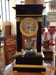 Early 19th C Portico Clock