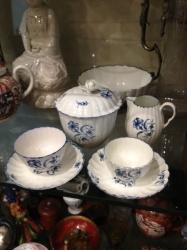 Worcester porcelain part teaset