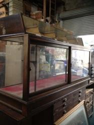 Victorian shop cabinet