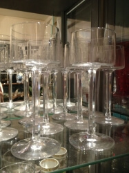Set of 10 unusual champagne coupes