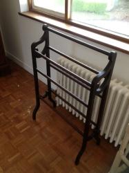Victorian towel rail