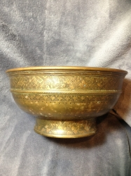 China Straights bronze bowl