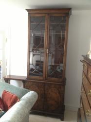 Regency Period Mahogany Bookcase