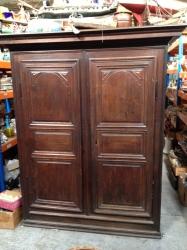 French oak cupboard