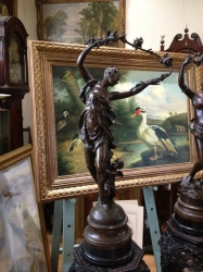 Bronze sculpture by Jean-Baptiste Carpeau