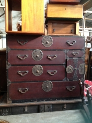 Japanese Lacquered Chest / Cabinet