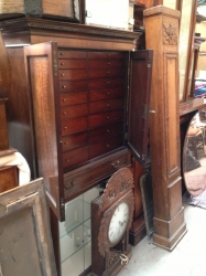 Late 19th Century Collectors Cabinet
