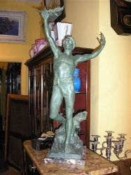 Patinated Spelter