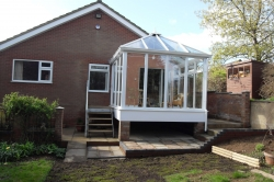Bespoke Conservatory with Storage Underneath