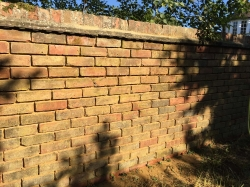 Structural Repair to Garden Wall