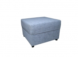 Re-upholstered Pouffe