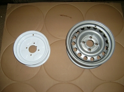 Steel Wheel without Tyres