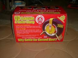 Bull Dog wheel clamp shown is QD range. Fits wheels 12