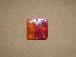 British Made 4 Function Rear Trailer Light (Stop, Tail, Flash, Number Plate)